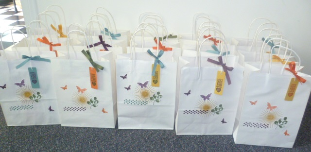 Goodie Bags for everyone!