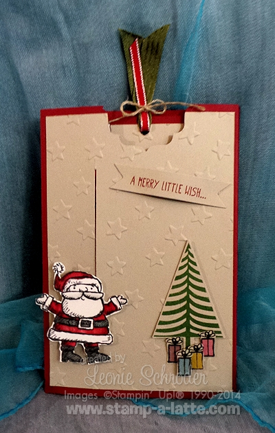 SantaPocketSliderCard