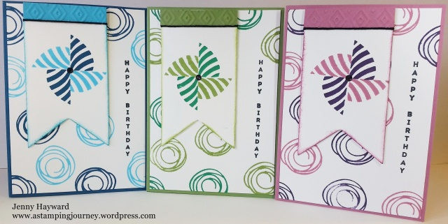 Swirly Pinwheels - Group