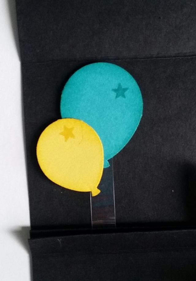 Balloons lying flat