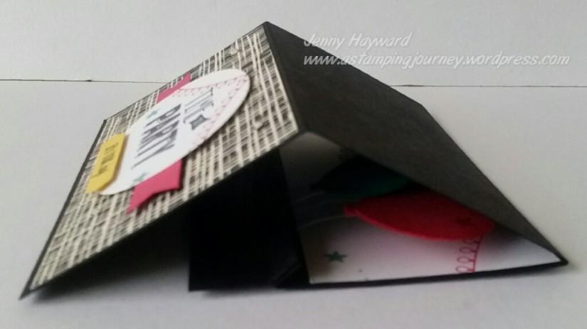 folded inside