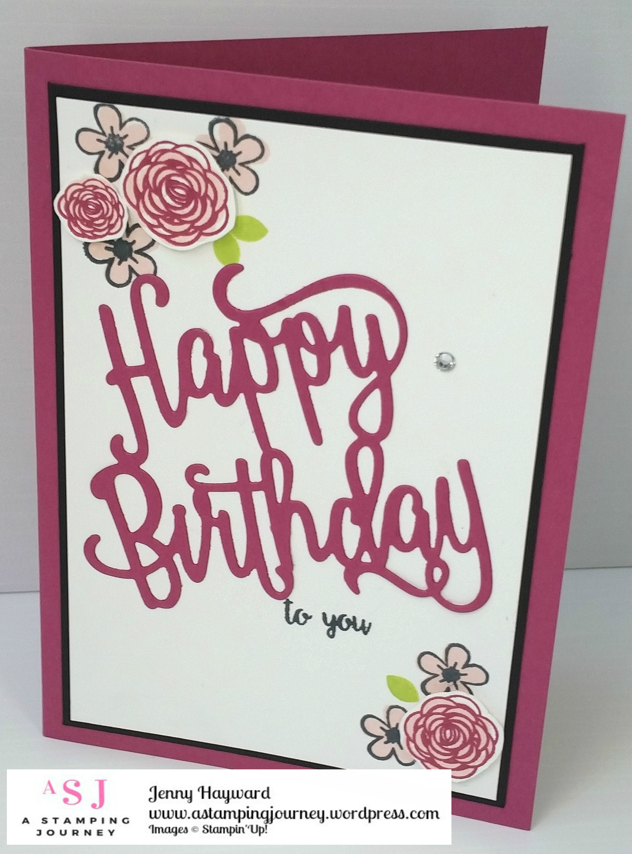 A Berry Happy Birthday A Stamping Journey