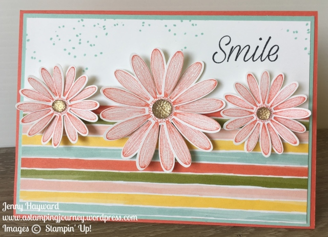 Stampin' Up! Daisy Lane Smile card