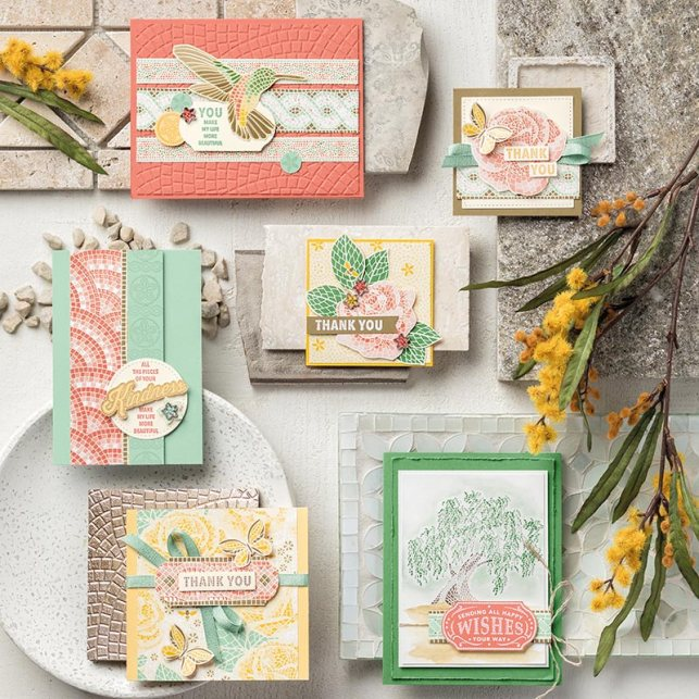 Stampin' Up! Mosaic  Mood Suite