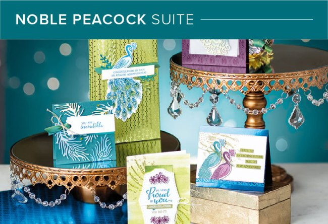 Stampin' Up! Noble Peacock Suite