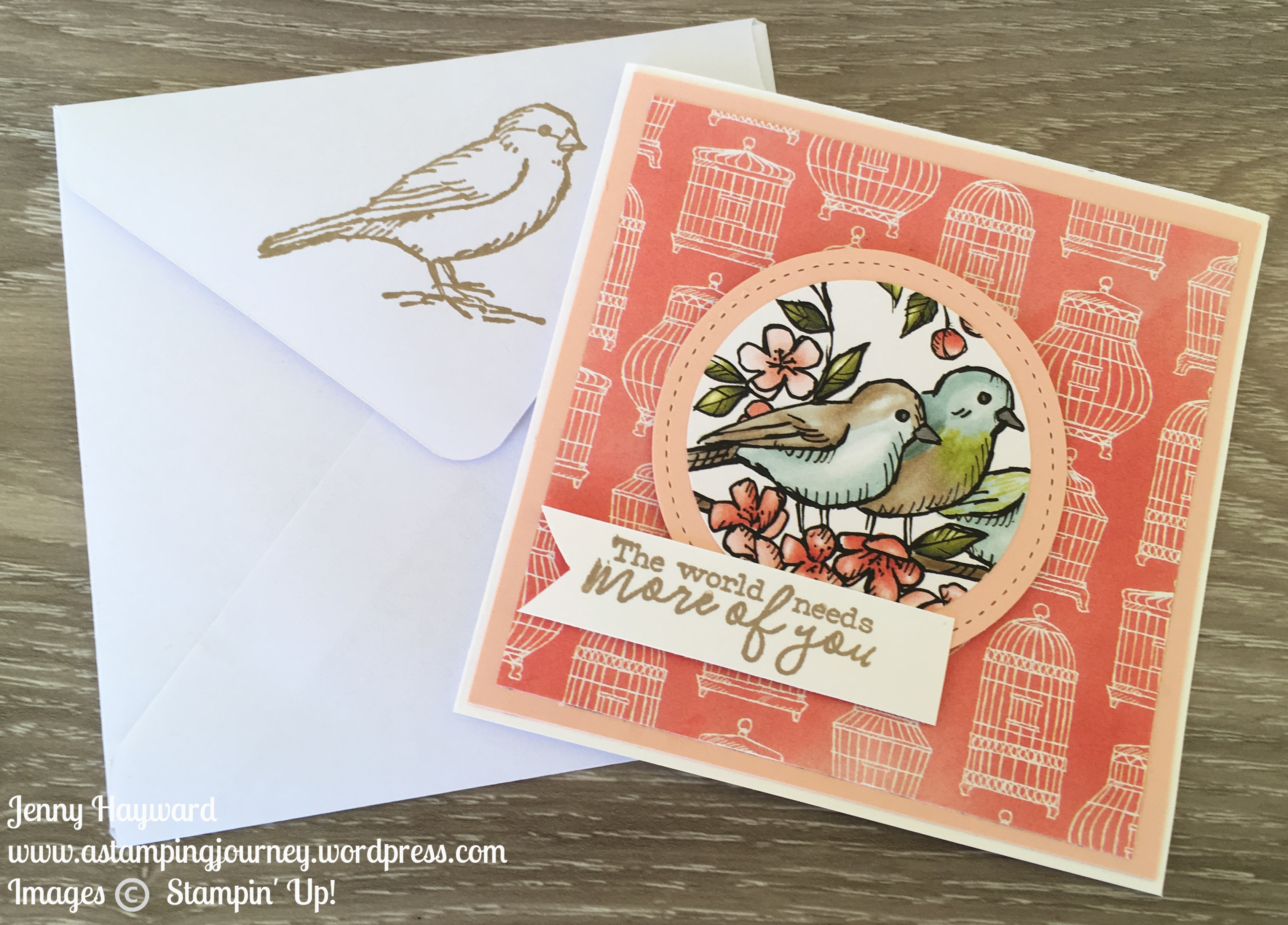 Bird Ballad Mini Card