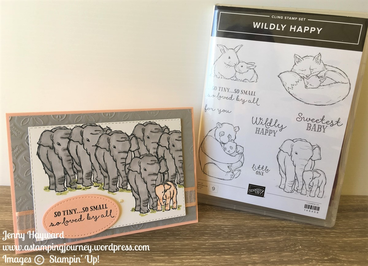 Stampin' Up! Wildly Happy