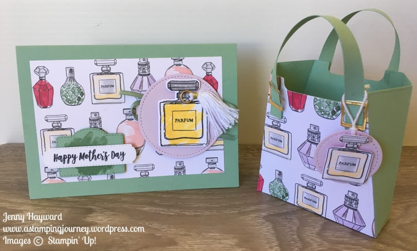 Best Dressed Gift Bag and Card