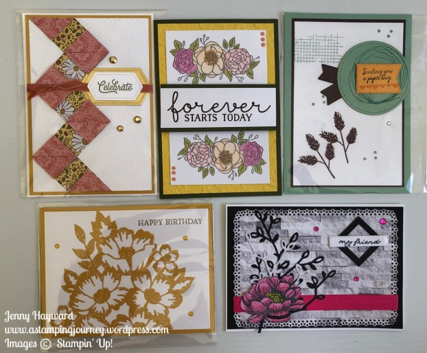 2020 Annual Stampin' Up! Catalogue _ card swaps