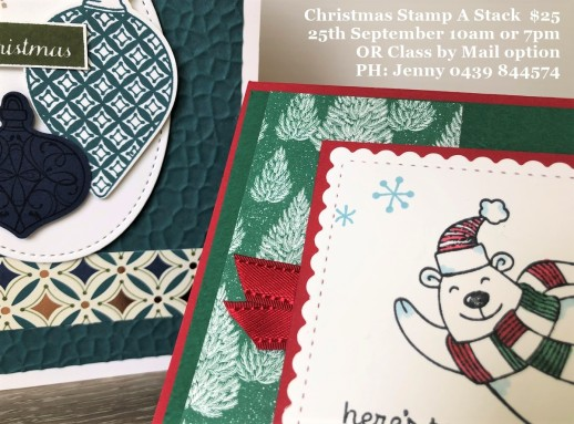 Christmas Stamp A Stack