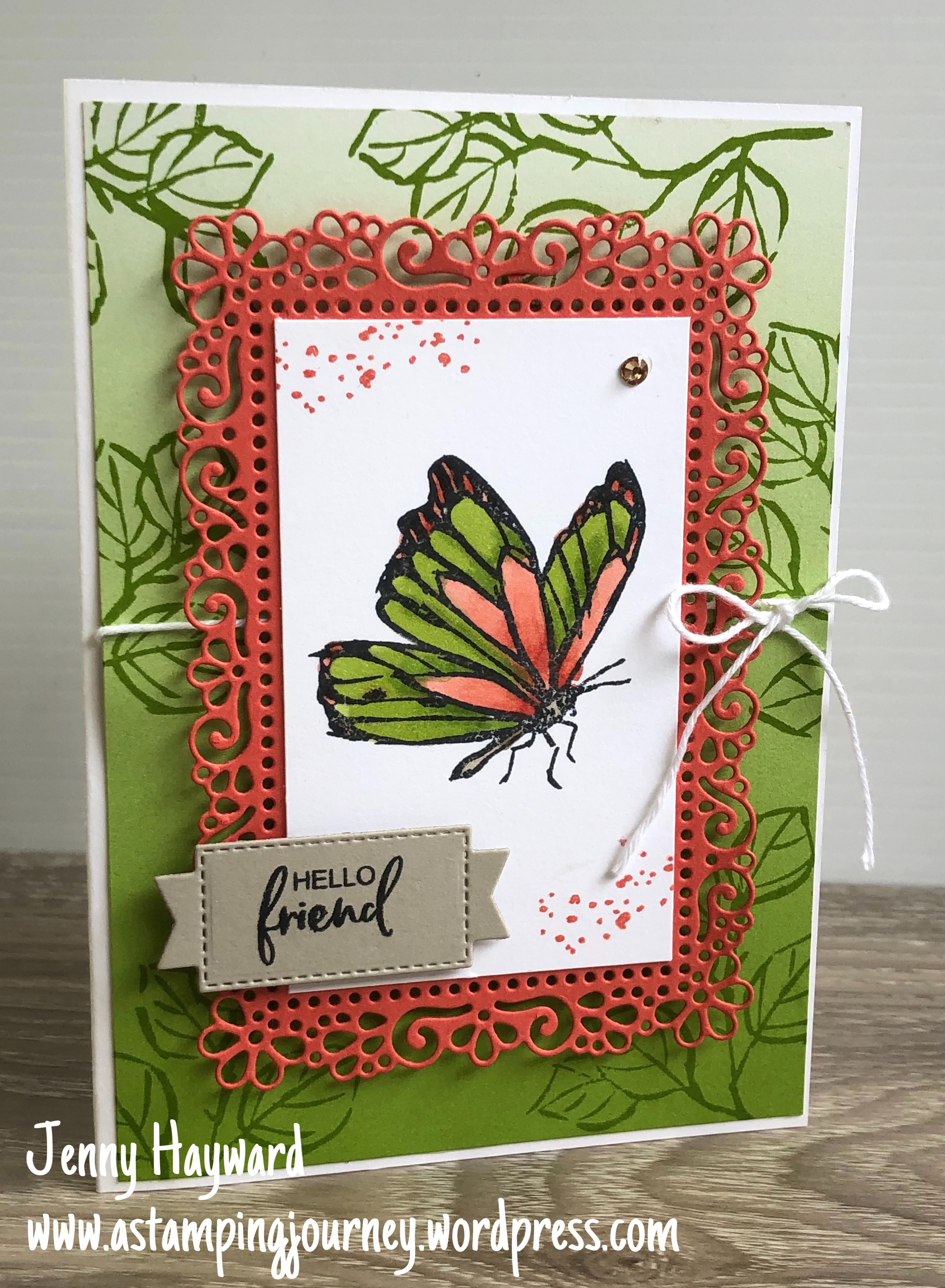 Stampin' Up! A Touch of Ink stamp set