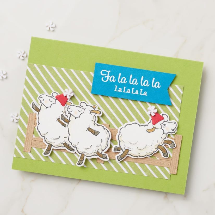 Stampin' Up! Counting Sheep